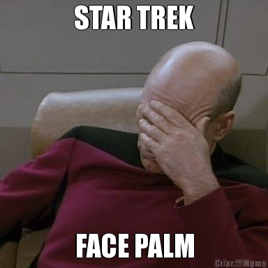 Pin Star Trek Facepalm...